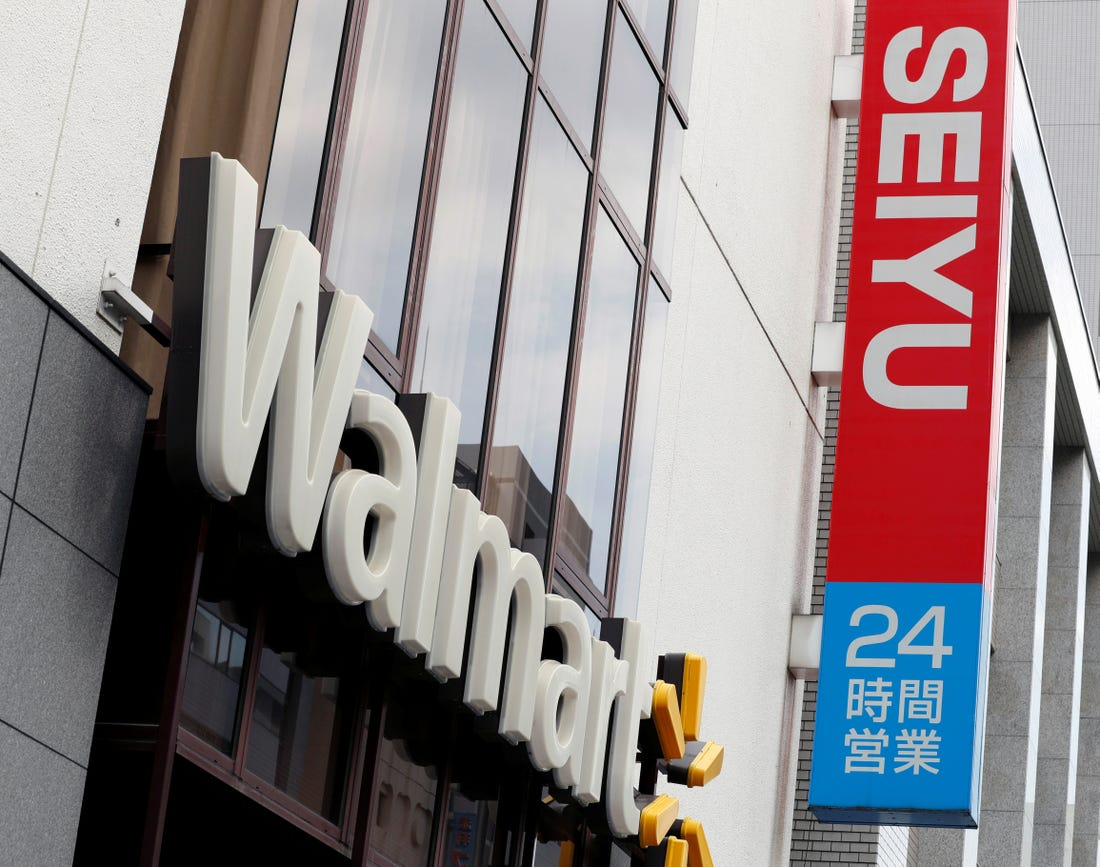 Walmart next to Seiyu